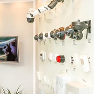 Geschäftsstelle - Ausstellung - Kamerasysteme