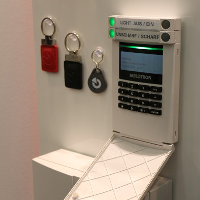 Geschäftsstelle - Ausstellung - Hausautomation